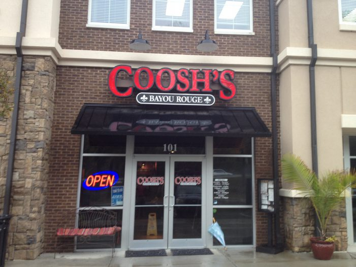 Coosh's Bayou Rouge Settles in New Location