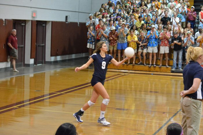 Maclay Volleyball Falls to Chiles 3-1