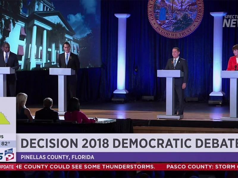 Democrats Tangle on Records in Gubernatorial Debate ...