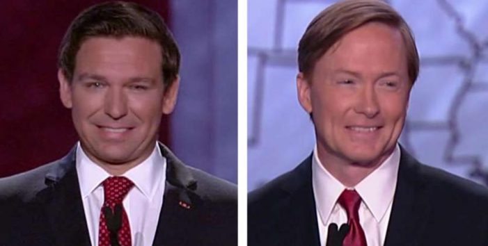 Putnam, DeSantis Debate Trump Ties, Immigration