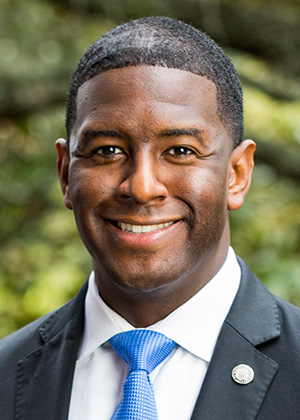 Mayor Gillum Runs From Questions About Tallahassee Democrat Negotiation