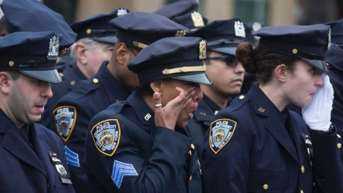 Police Officers Killed by Firearms Up 94% Over the Last Four Years