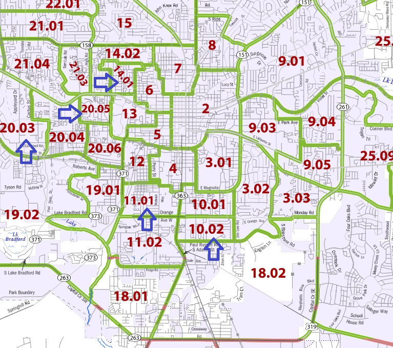 Five Tallahassee Census Tracts Designated as Opportunity ...