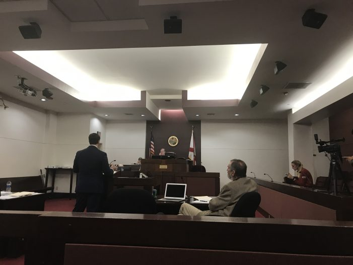 Judge Delays Ruling on Jackson's Sunshine Law Allegations Until 2:00 P.M. Friday