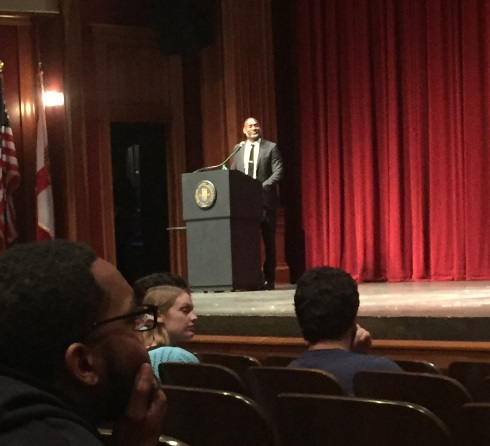 NY Times Columnist Charles Blow Speaks at FSU