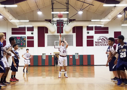 Montford Boys Basketball Kicks Off Season with Win