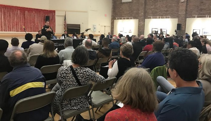 First Town Hall Provides Little Support for Public Safety