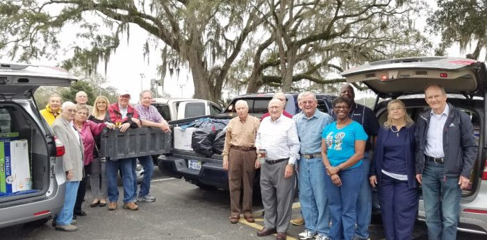 Killearn Kiwanis Steps Up Hurricane Relief Efforts