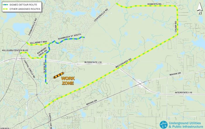 Centerville Road Pipe Replacement Requires Detour