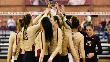Volleyball Prepares For 2019 European Tour