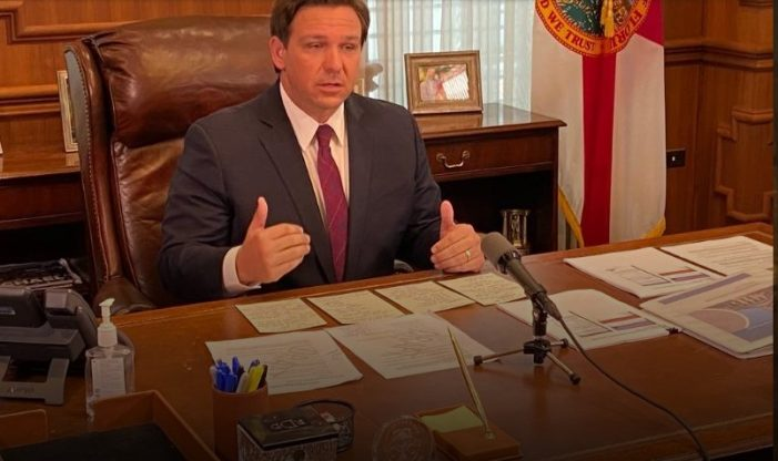 DeSantis Vows Crackdown on Travelers from 'Hotspots'