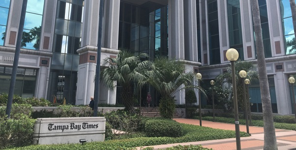 Tampa Bay Time Cuts Print Edition to Wednesday, Sunday Only