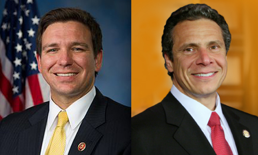 Governor DeSantis' Actions Get Support from New York Governor