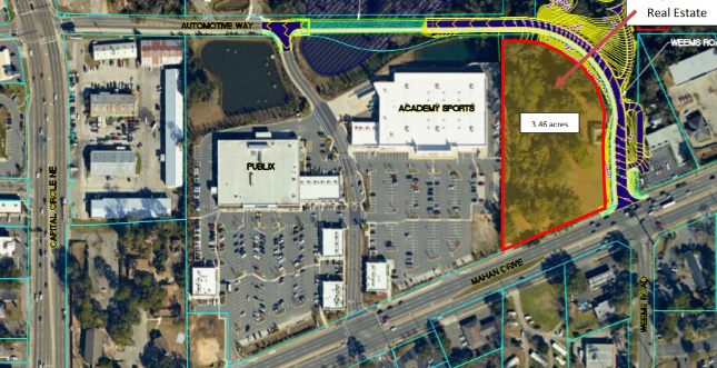 City Commission Approves Sale of Mahan/Weems Property to Vystar Credit Union