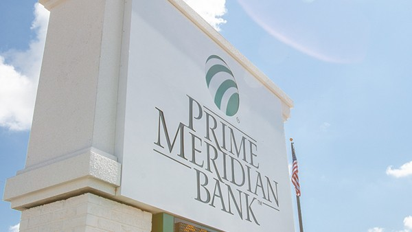 """Prime Meridian Bank Processes $80 Million in """"Paycheck Protection"""" Loans"""