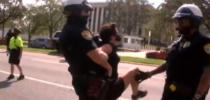 """Protestors Call Cleared Officers """"Killer Cops"""", TPD Comments on Arrests"""